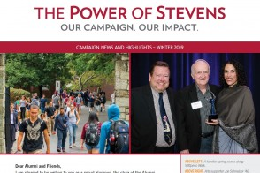 Cover of the Winter 2019 issue of the Campaign Newsletter