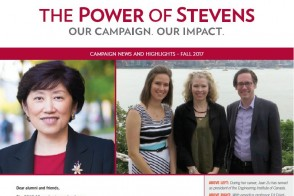 Cover of the Fall 2017 issue of the Campaign Newsletter
