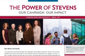 Cover of the Spring 2017 issue of the Campaign Newsletter