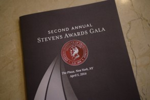Image of the cover of the Awards Gala Program Book