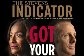 Cover of the Fall 2019 issue of the Stevens Indicator