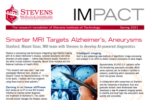 cover of spring 2021 IMPACT newsletter
