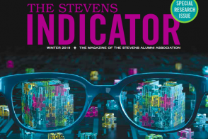 Cover of Winter 2019 issue of The Stevens Indicator