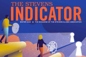 cover of current issue of Stevens Indicator magazine