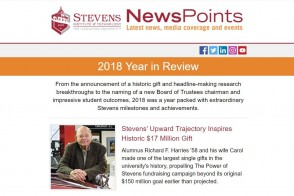 Screen capture of the 2018 Year in Review special edition
