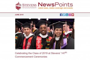 Screen capture of NewsPoints June 2019 edition