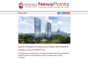 Screen capture of NewsPoints March 2019 edition