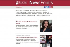 Screen capture of NewsPoints May 26, 2020 edition