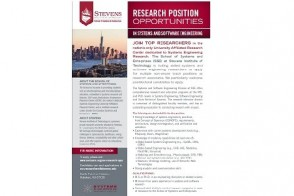 Research Position Opportunities Job Advertisement for Stevens School of Systems and Enterprises