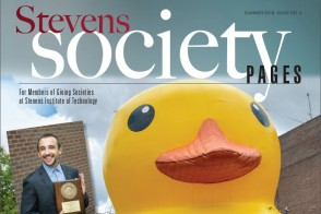Cover of the Summer 2019 Issue of Stevens Society Pages
