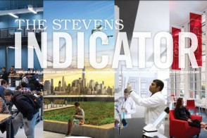 Picture of the cover of the 2017 Spring/Summer issue of the Stevens Indicator