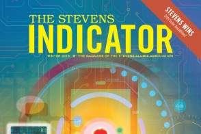 Cover of an issue of The Stevens Indicator