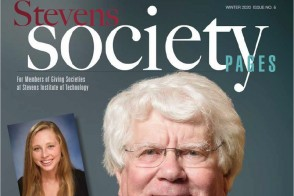 Cover of the Winter 2020 Issue of Stevens Society Pages