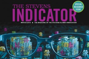 Cover of the Winter 2019 issue of the Stevens Indicator
