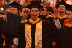 By the time they graduate, Stevens students are well prepared to take on the challenges of the real world.