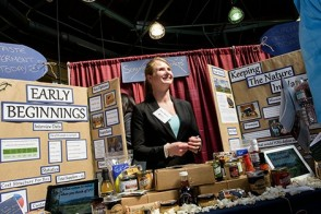Jessica Spanier explains the business model behind her Innovation Expo project, Scrumptious Secrets of Vermont.